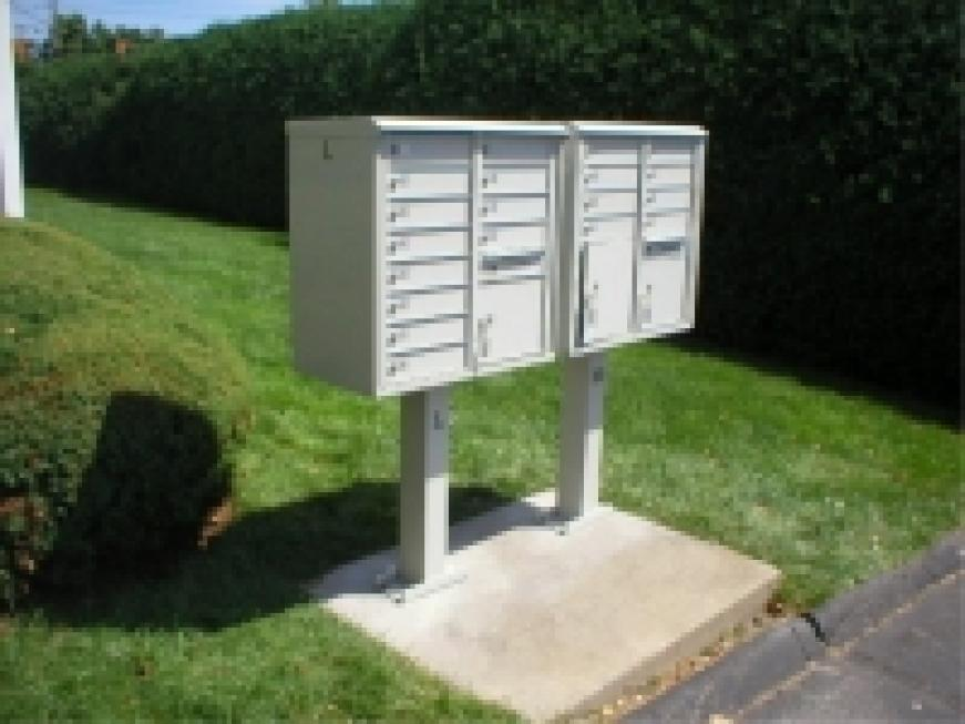 Outdoor Commercial Mailboxes