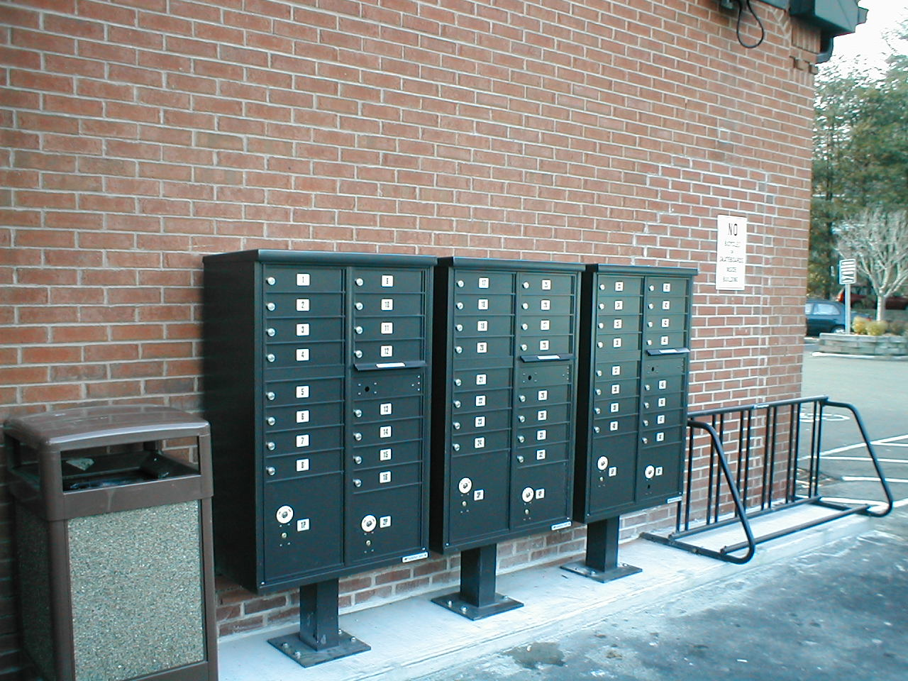 Outdoor Commercial Mailboxes Type Iii Cbu